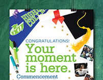 Highline College Commencement 2017 Poster