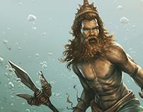 Poseidon (Pensacon 2020 program cover)