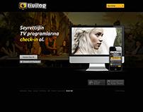 Tivilog Welcome Page, 2012