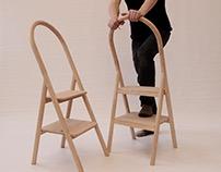 Douglas Fir Step Ladder