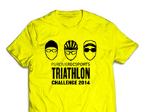 Triathlon Challenge Shirt Design