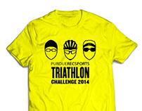 Triathlon Challenge Shirt Design 2014