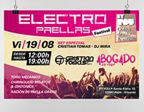 Evento música electrónica