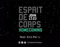 Esprit De Corps: Homecoming Moving Logo