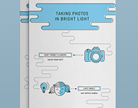 Infographic - Taking Photos in Bright Light