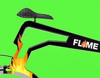 FLAME- the hubless bicycle