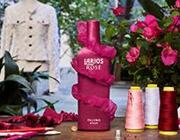 Larios Rosé limited edition landing page