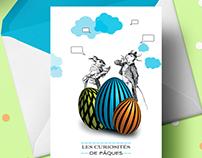Les petites cartes de Pâques