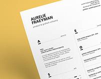 Resume Aurelie
