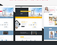 INDASTY - Construction & Industry PSD Template