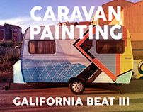 CARAVAN PAINTING at GALIFORNIA BEAT 2017