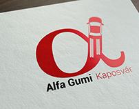 Logo design for Alfa Gumi