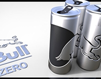 RED BULL | TOTAL ZERO Packaging Design Concept