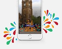 Snapchat Geofilter: Melbourne University Open Day