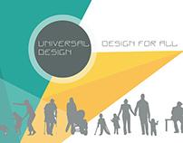 Universal design - desing for all. Presentation