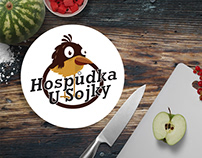 Hospůdka u Sojky - Visual identity, logo and website