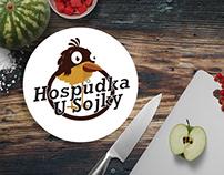 Hospůdka u Sojky - Visual identity, logo and website