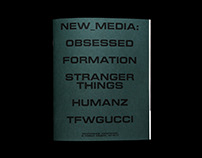 NEW MEDIA. Visual research