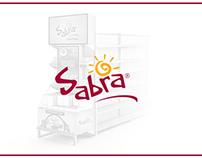 Dual-screen Sabra Digital Endcap