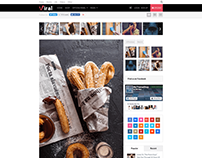 Viral WordPress Social Marketing Theme