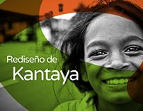 Rediseño de Kantaya