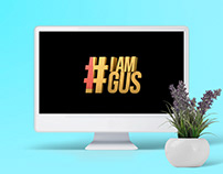Logo design IamGus