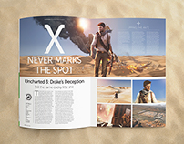 Uncharted 3: Drake's Deception feature /  NAG Magazine