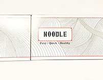 Chinese Noodle Packaging Design
