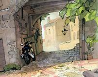 Through Viterbo