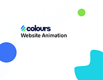 Colours Website Animation