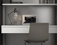 rba | Bedroom Workspace