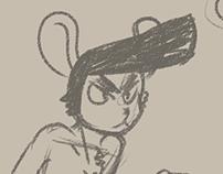 Rocket Rabbit - Sprite aniamtions