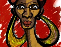 African Beauty (Character Design)