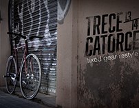 Trece Catorce fixed gear restyle
