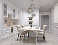 Sochi Apartment_01, 3D Interior Visualization