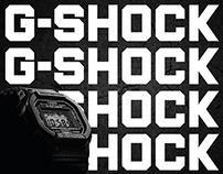 G-SHOCK —35 ANNIVERSARY PERU