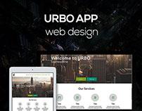Urbo Web Design Concepts