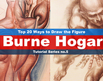 Top 20 ways to draw the figure Chapter 3 (Burne Hogarth
