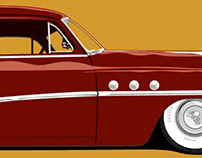'51 Buick Special Digital Illustration