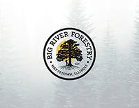 Big River Forestry Logo Design