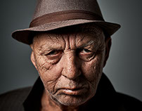 Portraits Old Man Bad