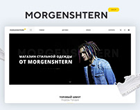 MORGENSHTERN.SHOP Internet shop and design development