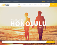 SunTour - Travel PSD Template
