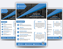 Free Business Flyer ( PSD )