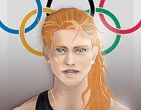 Olympic athlete: Axelle Dauwens
