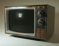 Retro TV Rendering