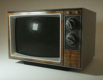 Retro TV Rendering