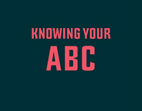 Knowing your ABC