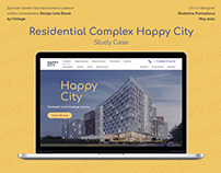 Residential Complex Happy City Study Case