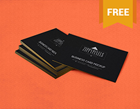 Free stacked business card mockup on behance colourmoves